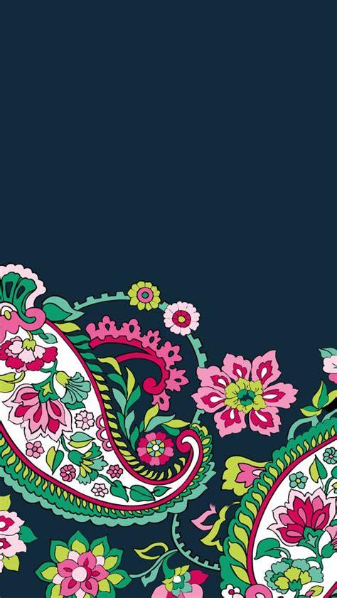 bradley designs dress your tech petal paisley mobile wallpaper vera