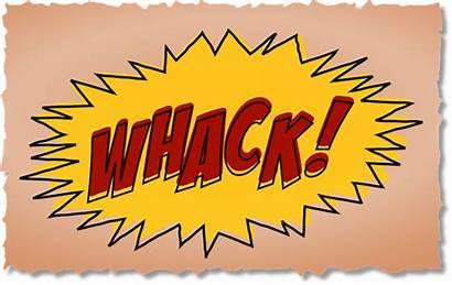 Comic Comics Clipart Clip Whack Effect Sound