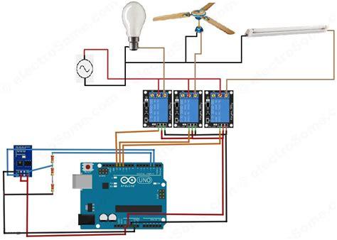 home design diagram home automation system using arduino and esp8266 circuit