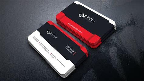 corporate business card design photoshop tutorial
