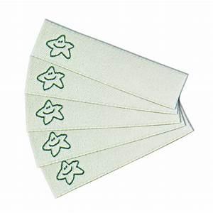 Kärtchen Zum Beschriften : textiletiketten zum selbst beschriften und gestalten mit stern symbol ~ Markanthonyermac.com Haus und Dekorationen