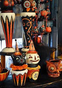 25 Vintage Halloween Decorations Ideas - MagMent