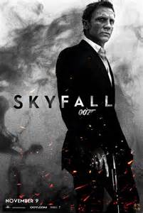 James Bond 007 Skyfall Movie Poster