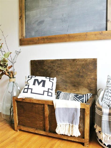 diy rustic storage projects  organize  home
