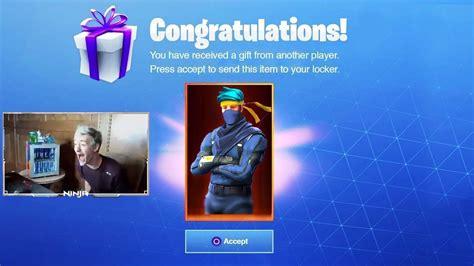 epic games finally gifts ninja   ultra rare custom