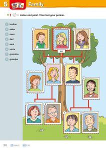 family tree playway pupils book  seite  grundschul