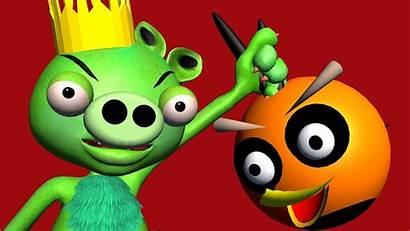 Angry Birds 3d Funvideotv Piggy Monsters Parody