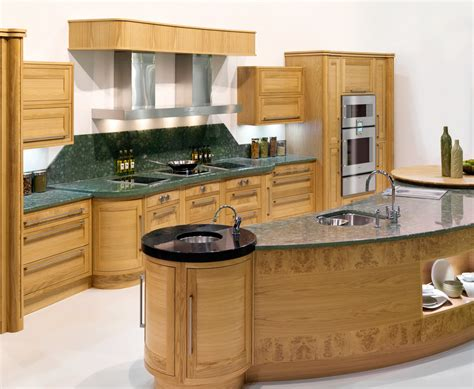 curved kitchens the curved kitchen island the great combinations between the functionality and style homesfeed