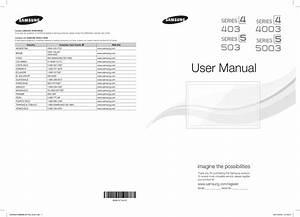 Samsung Manual Tv
