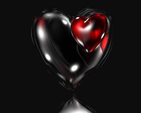 sweet heart  abstract black dark heart love gh