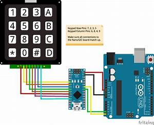Javascript Robotics  Keypad