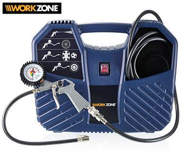Aldi SÜd  Workzone® Mobiler Kompressor