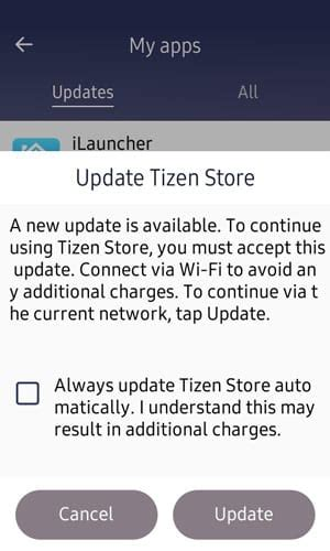 samsung z1 z2 and z3 tizen store updated to version 1 6 2 and calendar version 0 3 51 iot gadgets