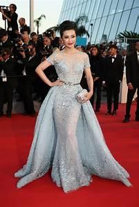 li bingbing in elie saab 2015 the most daring dresses With robe mariee cannes