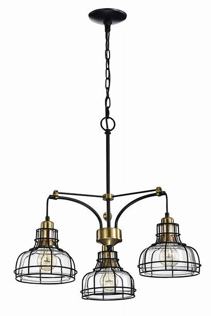Locke Chandelier Shade Clear Antique Glass Edvivi