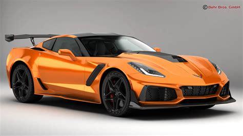 2019 chevrolet corvette zr1 chevrolet corvette zr1 2019 3d model flatpyramid