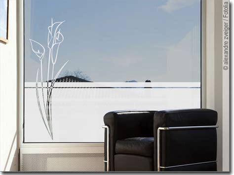 Fenster Sichtschutzfolie Blumen by Sichtschutzfolie Blume Callas Glasfolie F 252 R Fenster