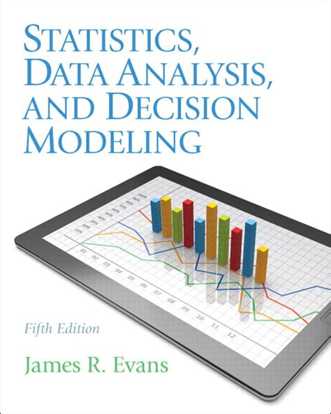 evans statistics data analysis  decision modeling