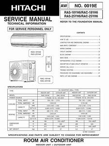 Hitachi Manual Ras Rac