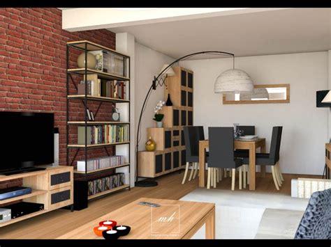 architecture décoration intérieur asd style industriel épuré à noisy le grand mh deco