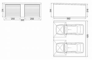 Dimension Garage 1 Voiture : garage m tallique cr pis toit plat 2 portes garage isol ~ Dailycaller-alerts.com Idées de Décoration