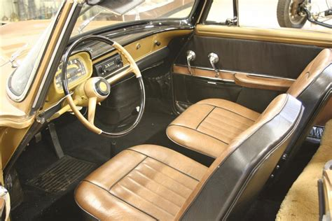 renault caravelle interior 1959 renault caravelle 2 door cabriolet 49257