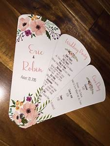 best 25 fan wedding programs ideas only on pinterest With wedding invitation design course