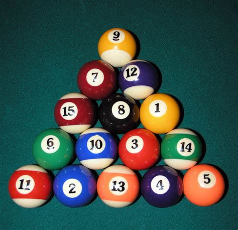 How To Rack In Pool - eight