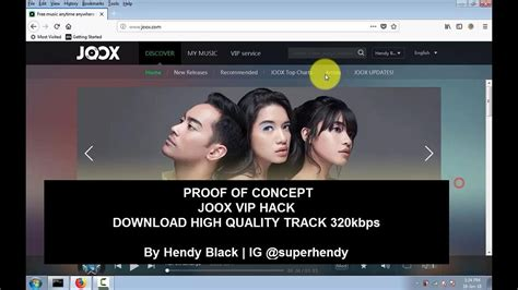 Download High Quality Audio 320kbps From Joox Vip