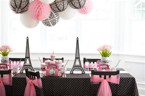 paris damask birthday party evite