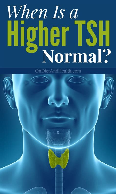 when is high tsh normal