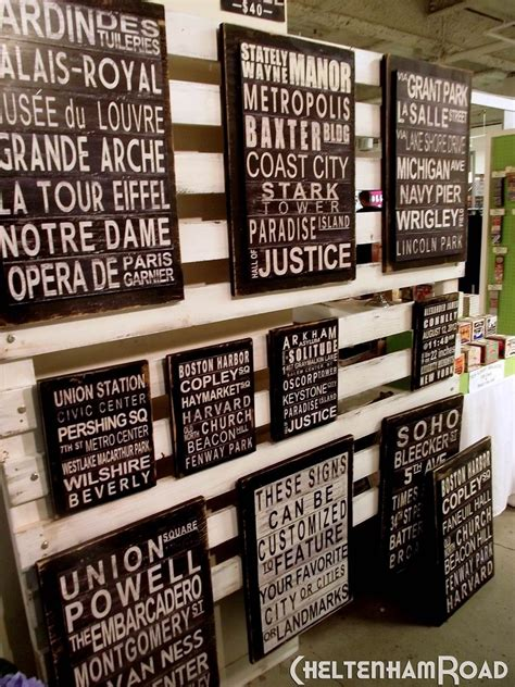 image result  craft booth display ideas  wood signs