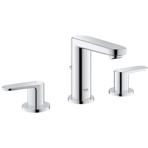 grohe europlus kitchen faucet grohe europlus 8 in widespread 2 handle low arc bathroom