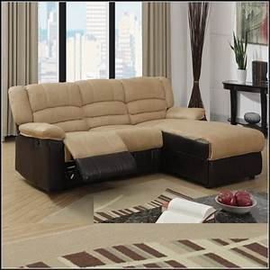 Rooms to go small sectional sofas sofa home furniture for Reclining sectional sofa for small space