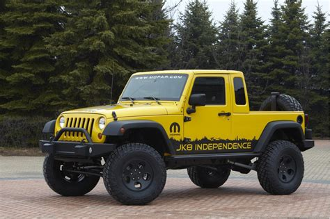 jeep wrangler unlimited jk  pickup conversion package priced