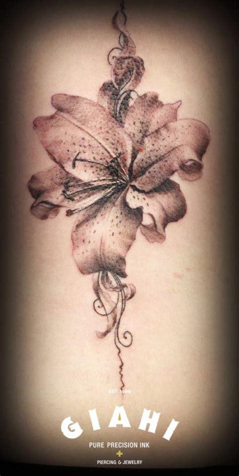 graphic flower tattoo  roony  tattoo ideas gallery