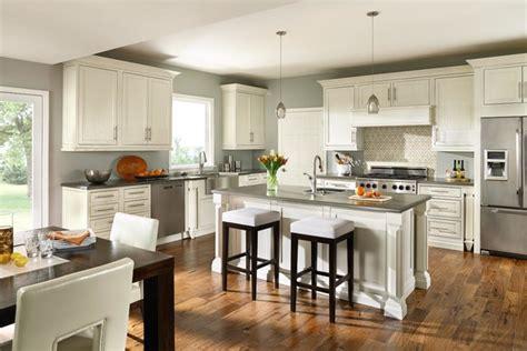 Masterbrand Cabinets Inc Corporate Headquarters by Decora Prescott Inset White Kitchen Traditional