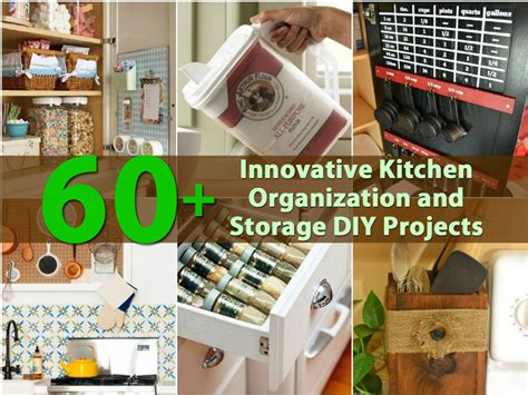 innovative kitchen organization  storage diy