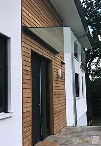 Vordach Haustür Glas : glas vordach dura mit pulverbeschichtetem profil passend zur haust r fenster t ren ~ Orissabook.com Haus und Dekorationen