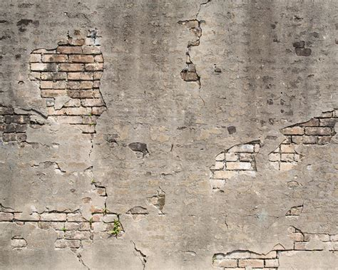 broken concrete wall mural contemporary wallpaper