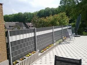 Sichtschutzstreifen Zum Einflechten : pvc sichtschutzstreifen von der rolle f r zaunanlagen ~ Michelbontemps.com Haus und Dekorationen