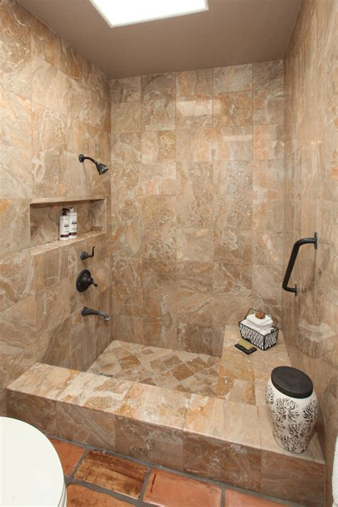 Tuscan Kitchen Decor Ideas - small tub shower combo bathroom contemporary with marble master bathroom remodel