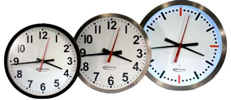 Analog Clocks For Ntp, Time Code & Master Clock Systems