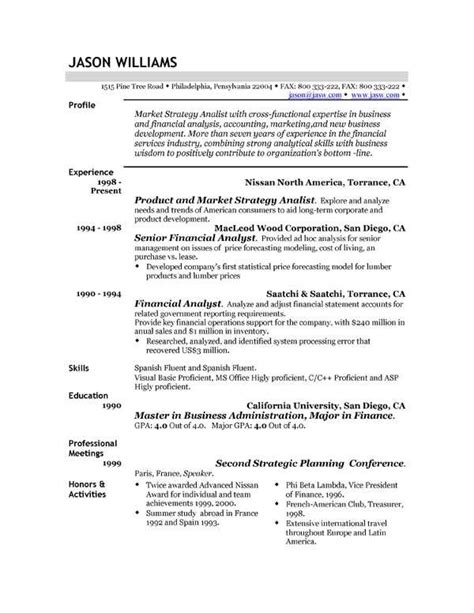 resume exles uk exles of resumes