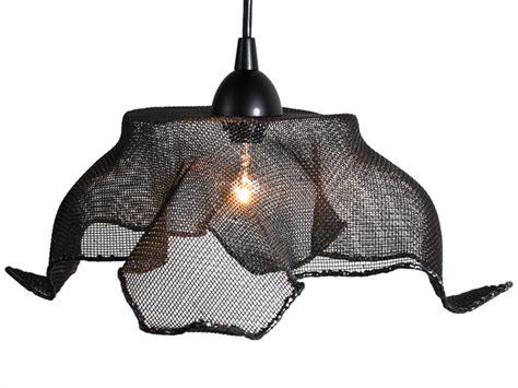 recycled copper mesh pendant light  salvatecture studio
