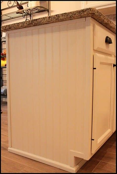 refacing kitchen cabinets with beadboard beadboard to reface sides of cabinets kitchen 7702