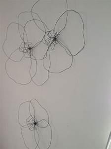 Deco Murale Metal Fleur : nouvelle d coration murale rose rec le d 39 objets en tous genres ~ Teatrodelosmanantiales.com Idées de Décoration