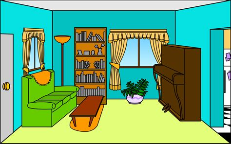 Living Room Clipart by In Living Room Clipart Search La Casa