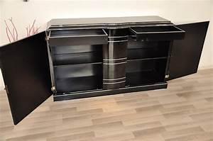 Art Deco Sideboard And Chromeliner For Sale At 1stdibs