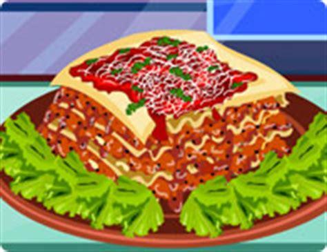 lasagna decoration girl games